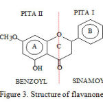 Figure 3: Structure of flavanone