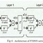Figure 4: Architecture of FTDNN network
