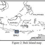 Figure 2: Bali Island map