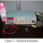 Figure 2 : Electrical Stimulator
