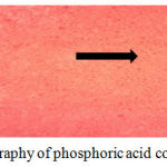 Figure 11: Topography of phosphoric acid containing group