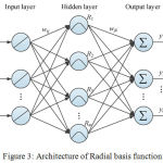 Figure 3: Architecture of Radial basis function