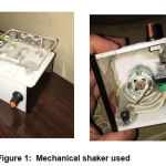 Figure 1: Mechanical shaker used