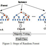 Figure 1: Steps of Random Forest.