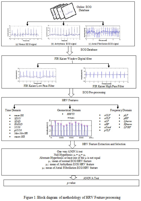 Comparative Analysis of Heart Rate Variability Parameters