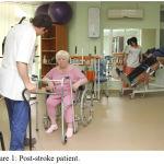 Figure 1: Post-stroke patient.
