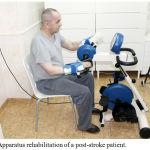 Figure 3: Apparatus rehabilitation of a post-stroke patient.